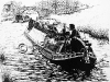 Canal buttie boat Lucy being towed by Renfrew