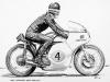 Mike Hailwood (1960 Manx Norton)