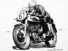 Ray Amm (1953 Norton)