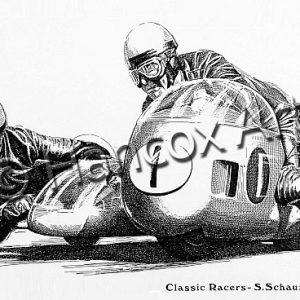 Seigfried Schauzu and Horst Schneider (BMW)