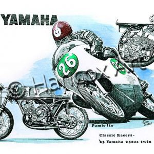 Yamaha 250 Twin Classic Racer