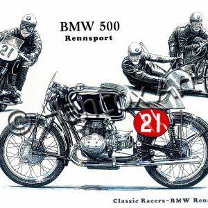 BMW 500 Rennsport Classic Racer