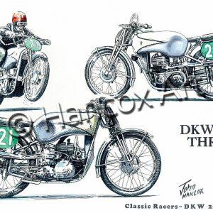 DKW 250 Three Classic Racer