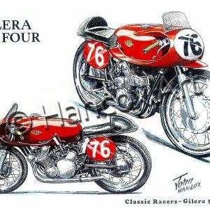 Gilera 500 Four Classic Racer