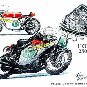 Honda 250 Six Classic Racer