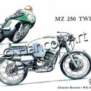 MZ 250 Twin Classic Racer
