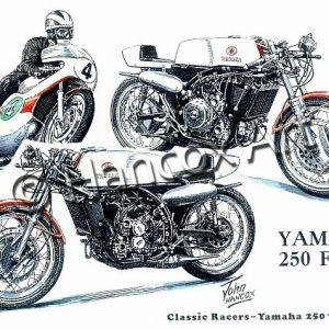 Yamaha 250 Four Classic Racer
