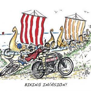 Biking Invasion!