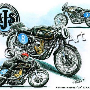 7R AJS Classic Racer