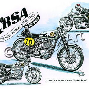 BSA Gold Star Classic Racer