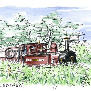 Caledonia Isle of Man Steam Railway