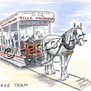 Horse Tram Isle of Man
