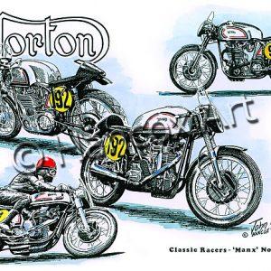 Manx Norton Classic Racer