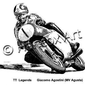 TT Legends Giacomo Agostini MV Agusta