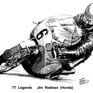 TT Legends Jim Redman Honda