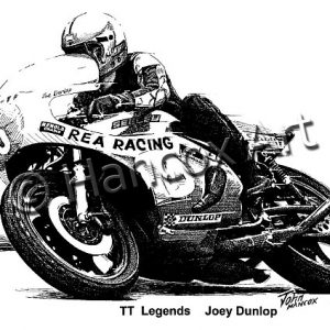 TT Legends Joey Dunlop (Yamaha)