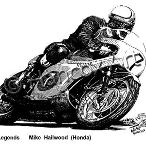 TT Legends Mike Hailwood Honda