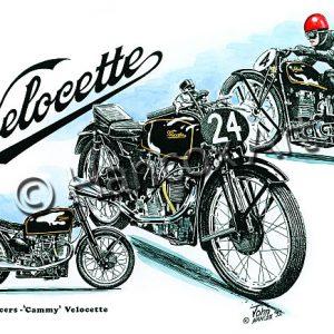 Cammy Velocette Classic Racer