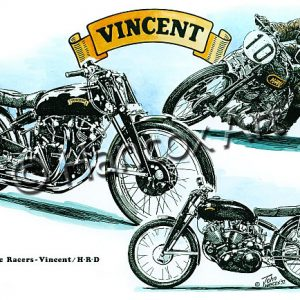 Vincent HRD Black Lightning Classic Racer
