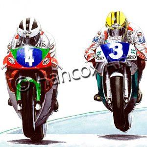 Robert Dunlop and Joey Dunlop