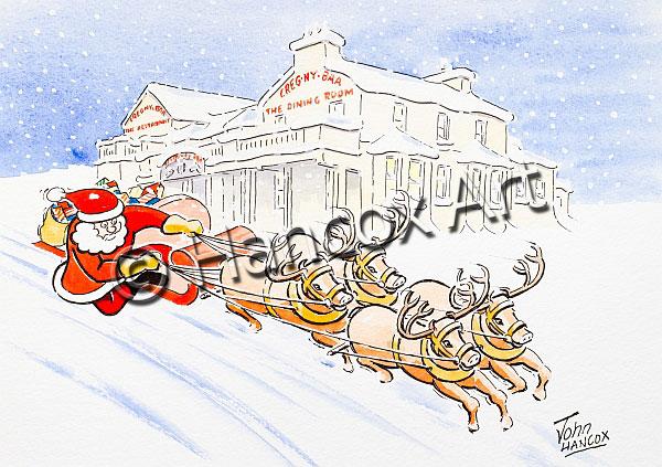 Santa at Creg Ny Baa