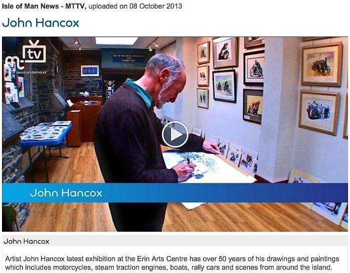 Hancox Art Exhibition Video