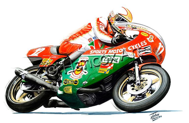 Mike Hailwood (Ducati) – Hancox Art