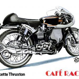 Velocette Thruxton Cafe Racer