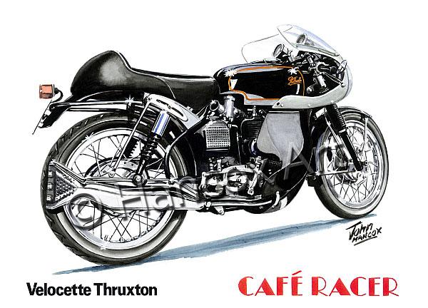 Velocette_Thruxton_Cafe_Racer