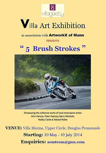 Villa Marina Motorcycle Art Exhibition