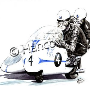 Max Deubel and Emil Horner (BMW) Colour