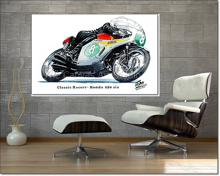 Classic Racer Canvas Wall Art