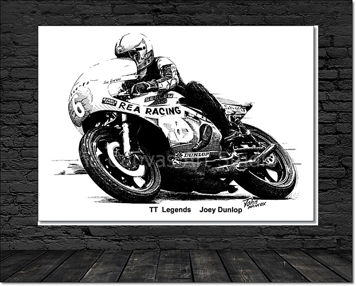 TT Legends Canvas Wall Art