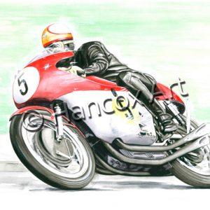 Mike Hailwood MV Agusta 1965