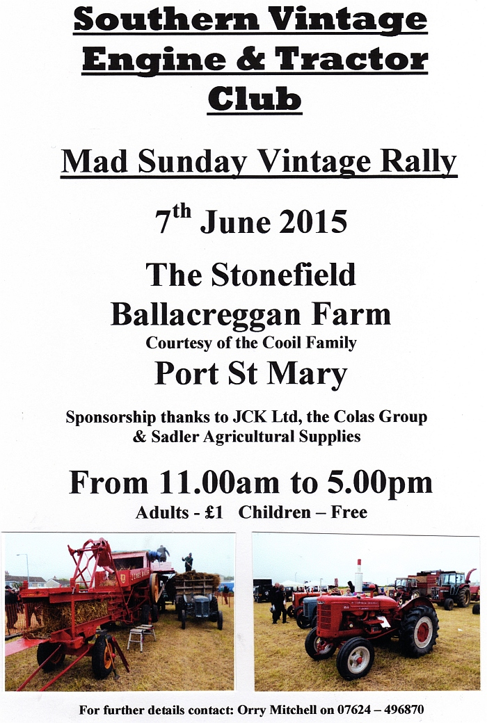 Mad Sunday Vintage Rally 2015