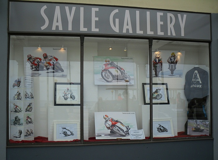 Hancox Art at The Sayle Gallery TT 2015