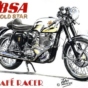 BSA Gold Star Cafe Racer