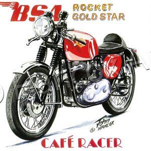 BSA Rocket Gold Star