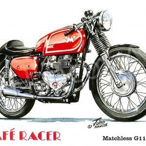 Matchless G11 CSR Cafe Racer