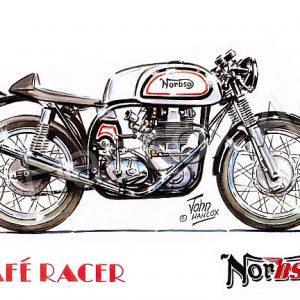 NorBSA Cafe Racer