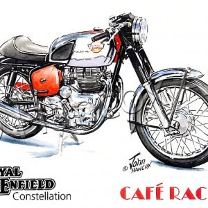 Royal Enfield Constellation Cafe Racer (chrome)