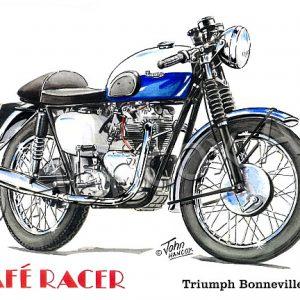 Triumph Bonneville 120 Cafe Racer