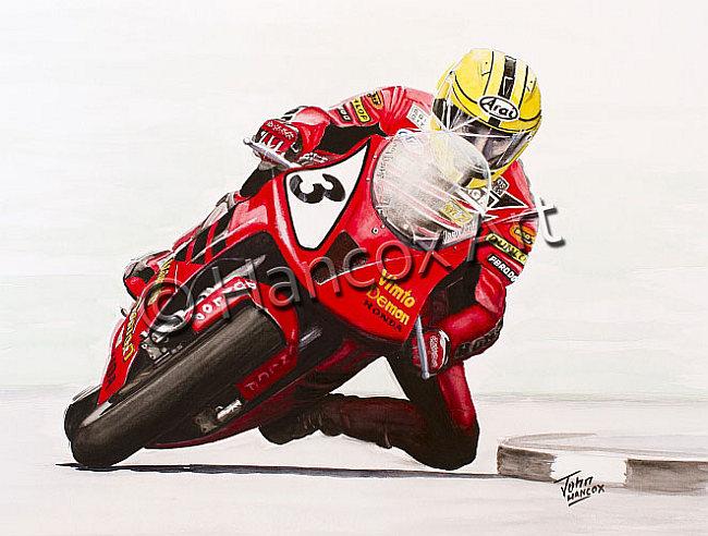 Joey Dunlop Vimto Honda